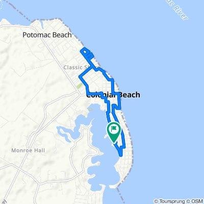 407 Wirt St, Colonial Beach to 413 Wirt St, Colonial Beach