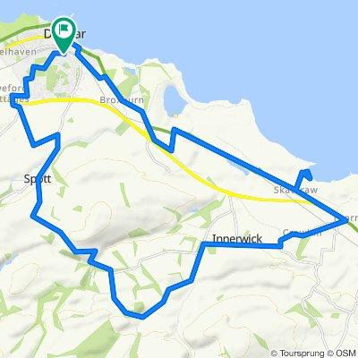 37 Retreat Crescent, Dunbar to 22 Retreat Crescent, Dunbar