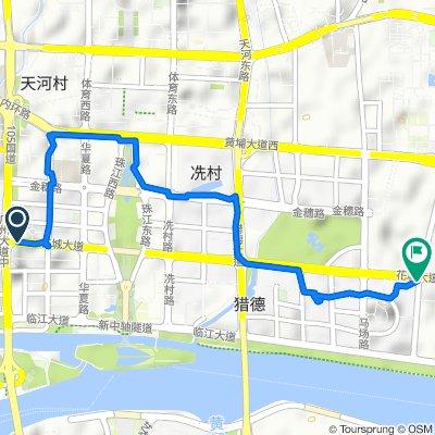 No.54-55 Taixing Straight Street, Guangzhou to Jiazi Road, Guangzhou