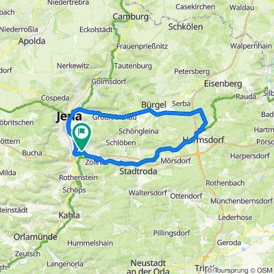 Rund um die Jenaer Berge mit dem E-Bike
