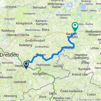 Herbsttour Ostsachsen, Tag 1