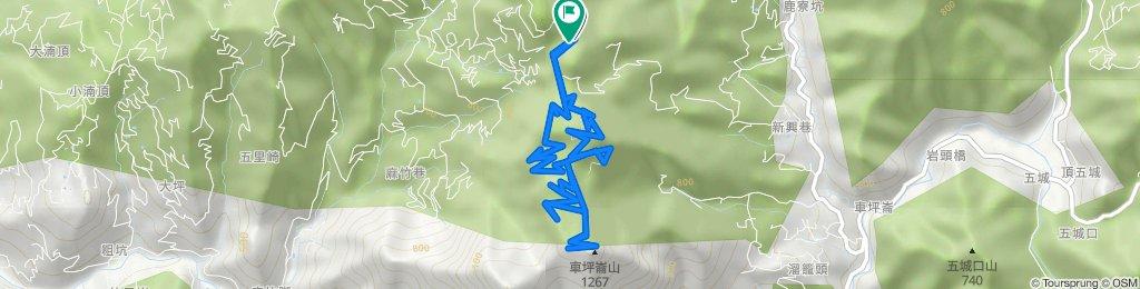 MTB-車坪崙山+西峰
