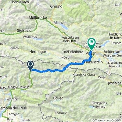 Alpe-Adria Pontebba - Villach