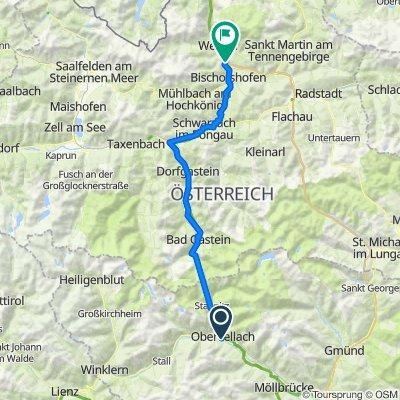 Alpe-Adria Oberfellach - Bischofshofen
