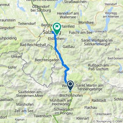 Alpe-Adria Bischofshofen - Salzburg