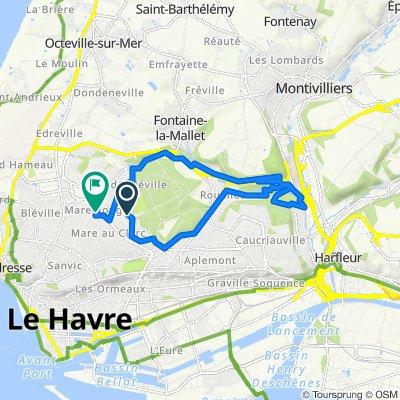 De 9 Rue Pierre Degeorges, Le Havre à 67 Rue Paul Veronese, Le Havre