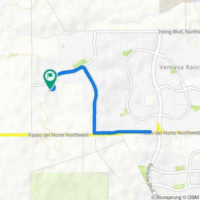 8119 Ventanita Ct NW, Albuquerque to 8119 Ventanita Ct NW, Albuquerque