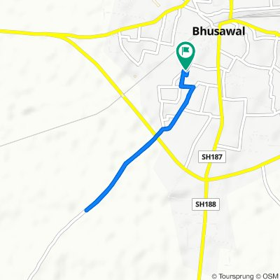 Upasani Heights, Bhusawal to Upasani Heights, Bhusawal