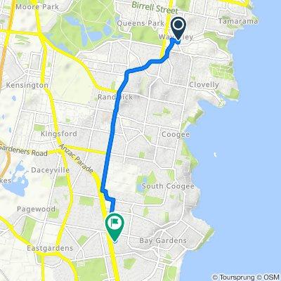 143 Henrietta Street, Waverley to 150 Garden Street, Maroubra