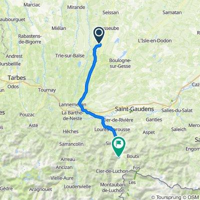 Route to Place de Tramesaygues, Cierp-Gaud