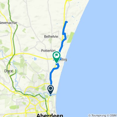 Donmouth to St Colm's Well, Pettens