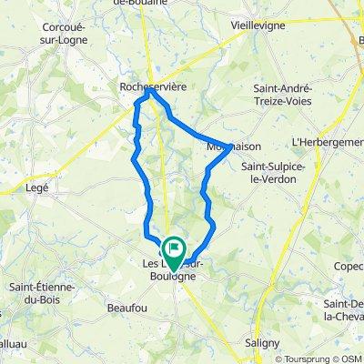 De 88 Rue Richelieu, Les Lucs-sur-Boulogne à 72 Rue Richelieu, Les Lucs-sur-Boulogne