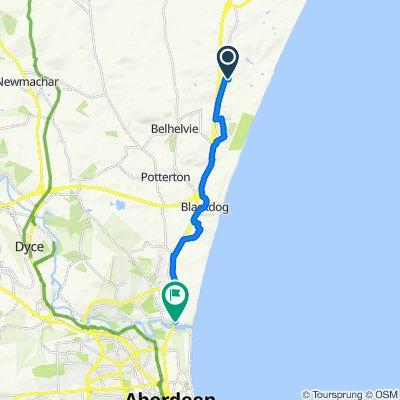 Route to Samne, 10 Ellon Road, Aberdeen