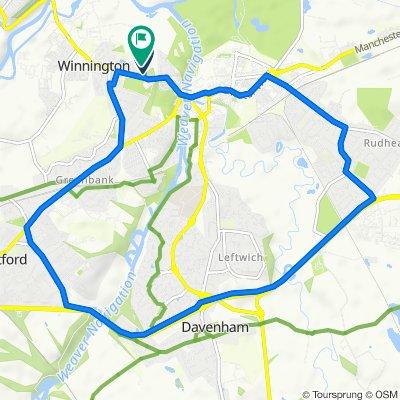 1 Oakleigh Rise, Northwich to 15 Oakleigh Rise, Northwich