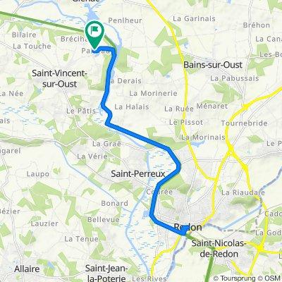 De Painfaut 6, Saint-Vincent-sur-Oust à Painfaut 6, Saint-Vincent-sur-Oust