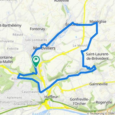 De 5 Allée des Cigognes, Montivilliers à 5 Allée des Cigognes, Montivilliers