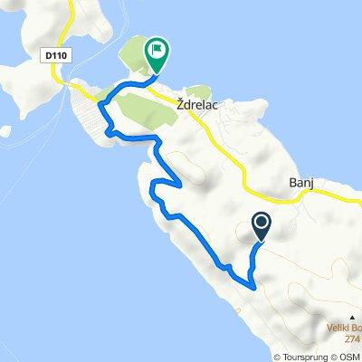 Route nach XXXIV 25, Pašman