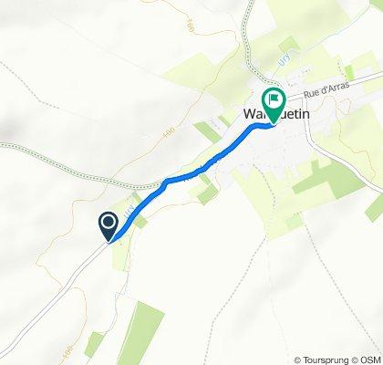 De D59, Wanquetin à 4bis Rue du Wetz, Wanquetin