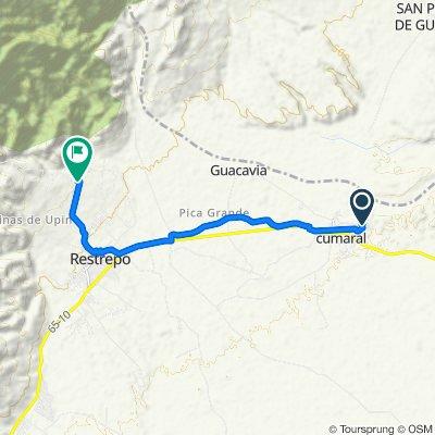De Calle 10ª #9-20, Cumaral a Unnamed Road