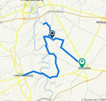 Day 4 Lawrenceburg - Versailles
