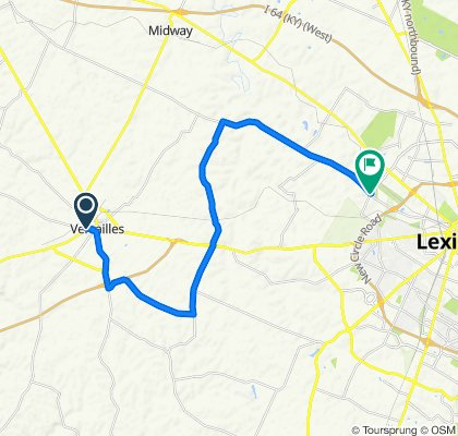 Day 5: Versailles to Lexington