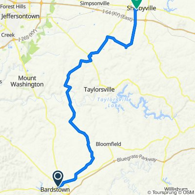 Day 2: Bardstown to Shelbyville
