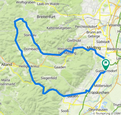 Guntramsdorf - Hochrotherd Runde
