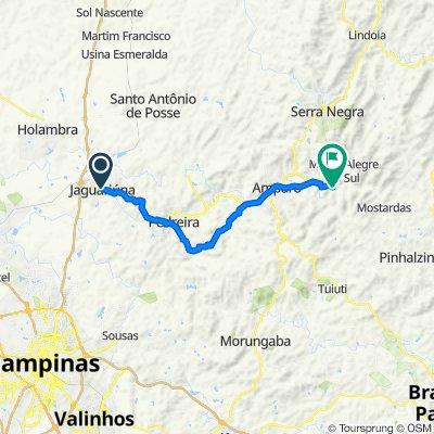 Monte Alegre a Jagua - proposta bikemap