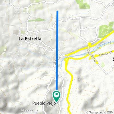 De Calle 94 Sur 50-51, Pueblo Viejo a Calle 94 Sur 50-51, Pueblo Viejo