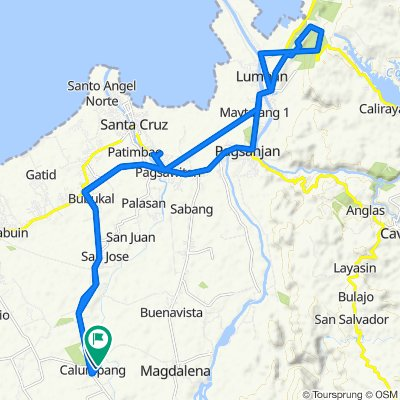 Route to Unnamed Road, Nagcarlan