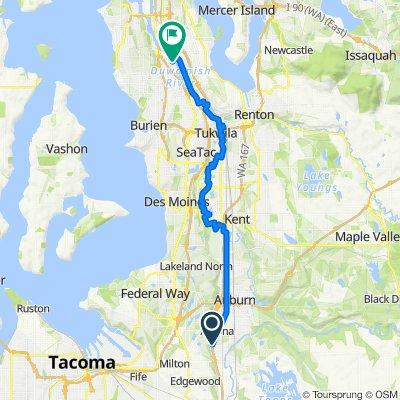 Potential Marathon Route