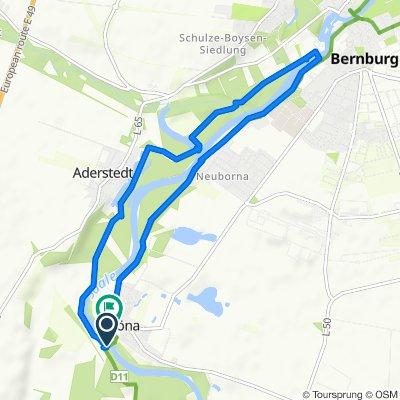 An der Saale, Bernburg (Saale) nach An der Saale, Bernburg (Saale)