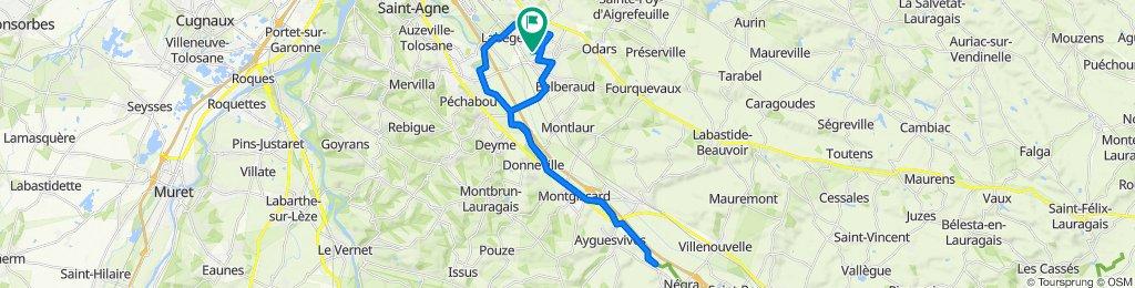 De Rue du Pic de la Sabine 27, Escalquens à Rue du Pic de la Sabine 29, Escalquens