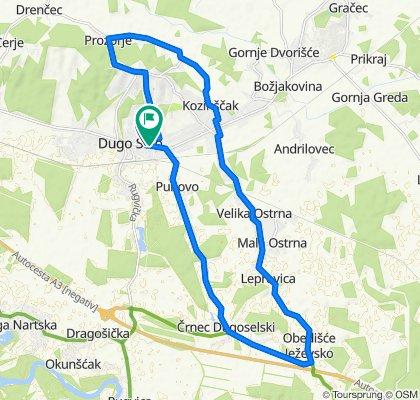Dugo Selo - Mala Ostrna - Puhovo