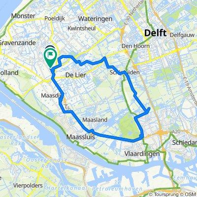 Strigastraat 62, Naaldwijk naar Sportpark de Hoge Bomen 3, Naaldwijk
