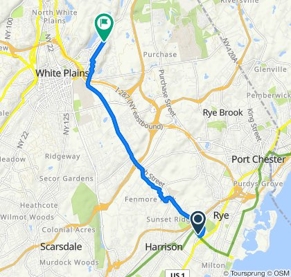 Playland Pkwy, Rye to 292 Gainsborg Ave E, Harrison