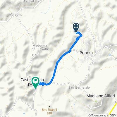 De Cascina Marcantonio 6, Priocca a Via Castagnito 4, Castellinaldo d'Alba