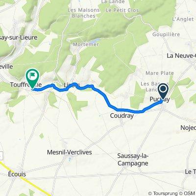 De 12 Rue Camelet, Puchay à 64 Grande Rue, Touffreville