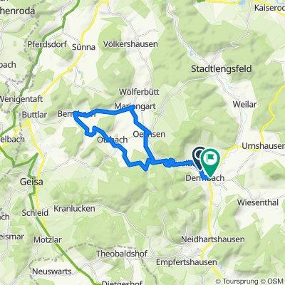 Kirchweg 124B, Dermbach nach Zum Friedhof 10, Dermbach