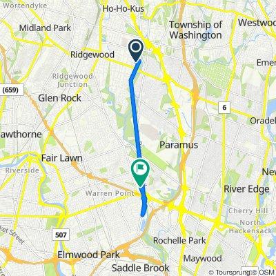 Pershing Avenue 61, Ridgewood to Paramus Road 59