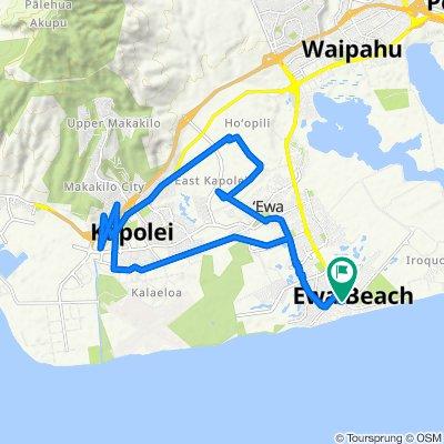 Aikanaka Road 91-829, Ewa Beach to Aikanaka Road 91-829, Ewa Beach