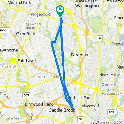 Wyndemere Avenue 683, Ridgewood to Pershing Avenue 61, Ridgewood