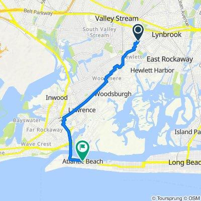 Trafalgar Square 9, Valley Stream to Park St + Jefferson Blvd, Atlantic Beach