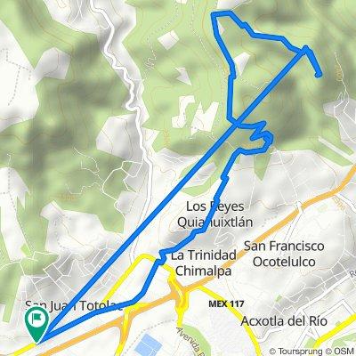 De Carretera Federal San Martin-Tlaxcala 28, San Juan Totolac a Carretera Federal San Martin-Tlaxcala 28, San Juan Totolac