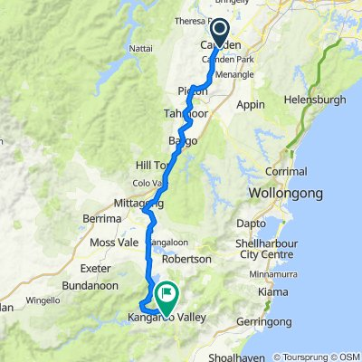 3 Lerida Avenue, Camden to 178 Moss Vale Road, Kangaroo Valley
