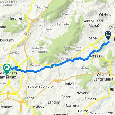 De Rua Monte de Alvar 647, Ronfe a Praça Dona Maria II 16, Vila Nova de Famalicão