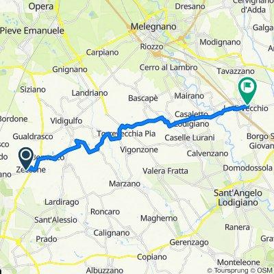Da Via Torre Civica, Zeccone a Via Giuseppe Garibaldi 8/A, Lodi Vecchio