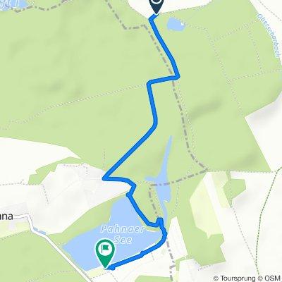 Moderate route in Fockendorf