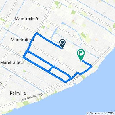 Commissaris Roblesweg 117, Paramaribo to Josephine Samson Greenstraat 18a, Paramaribo
