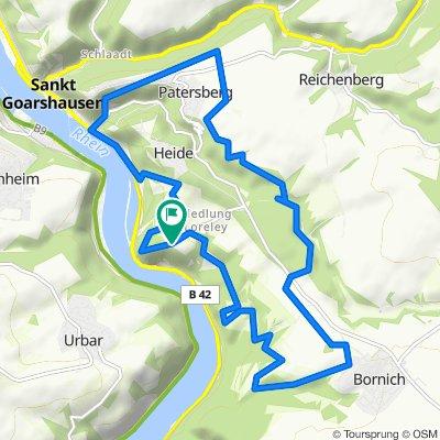 K89, Sankt Goarshausen nach K89, Sankt Goarshausen